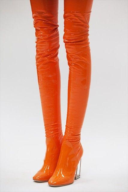 Best 25  Orange boots ideas only on Pinterest | Orange wellies ...