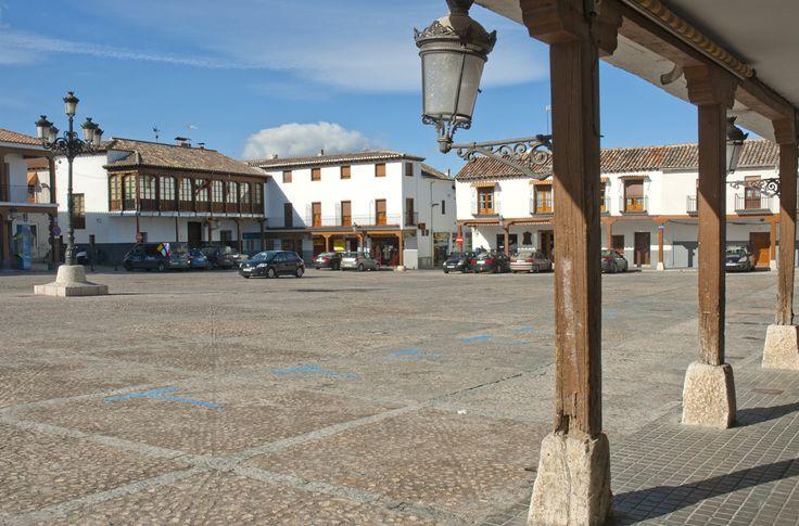 Plaza de la Constitución de Valdemoro.