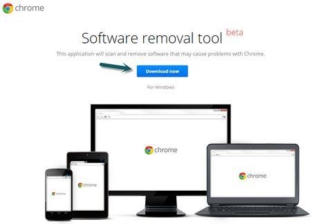 rimuovere programmi indesiderati da Chrome con il Software removal tool di Google