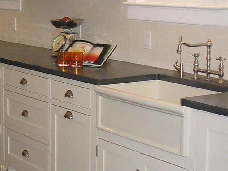 Awesome Why Choosing Concrete Countertops Michigan With White Cabinet .