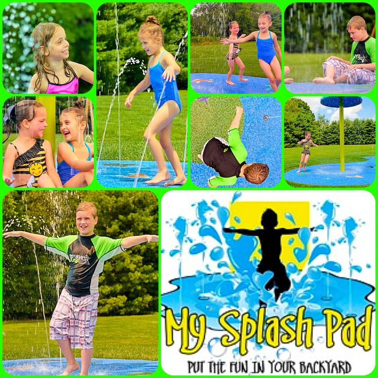 100 best images about residential backyard splash pad on - How to make a swimming pool in your backyard ...