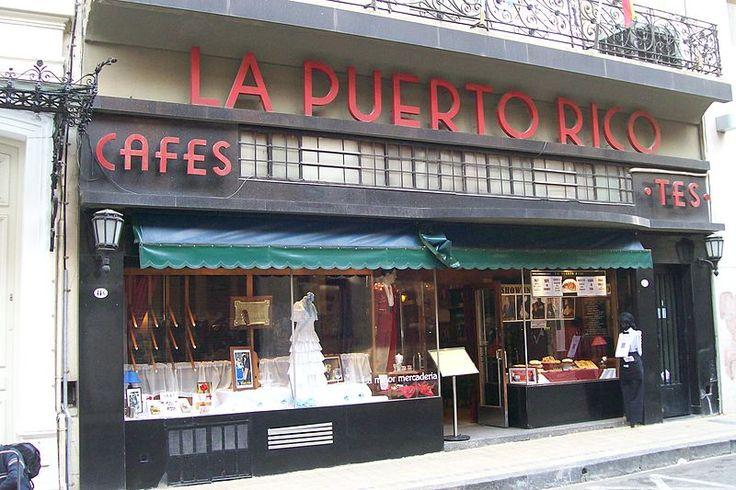 """""""""""Bar Notable, La Puerto Rico"""""""" en calle Alsina, Buenos Aires"""