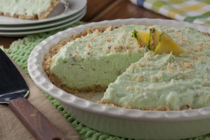 Pineapple Pistachio Pie | MrFood.com