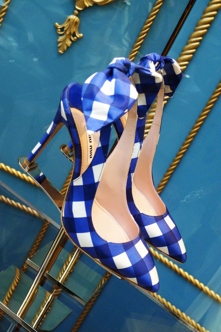 Miu-Miu Shoes for spring, in Paris #blue #shoes #omg #heels  #beautyinthebag