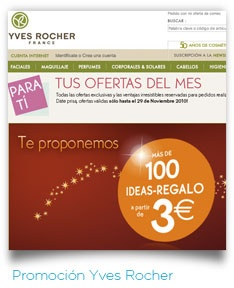 Promoción #YvesRocher.