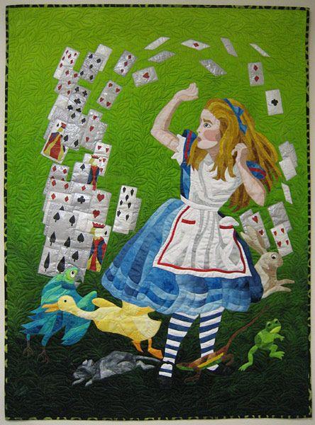 Alice in Wonderland Quilt