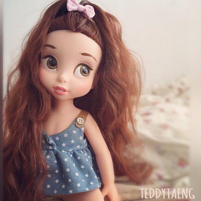 Belle Disney Animator Doll by TeddyTaeng                                                                                                                                                                                 More