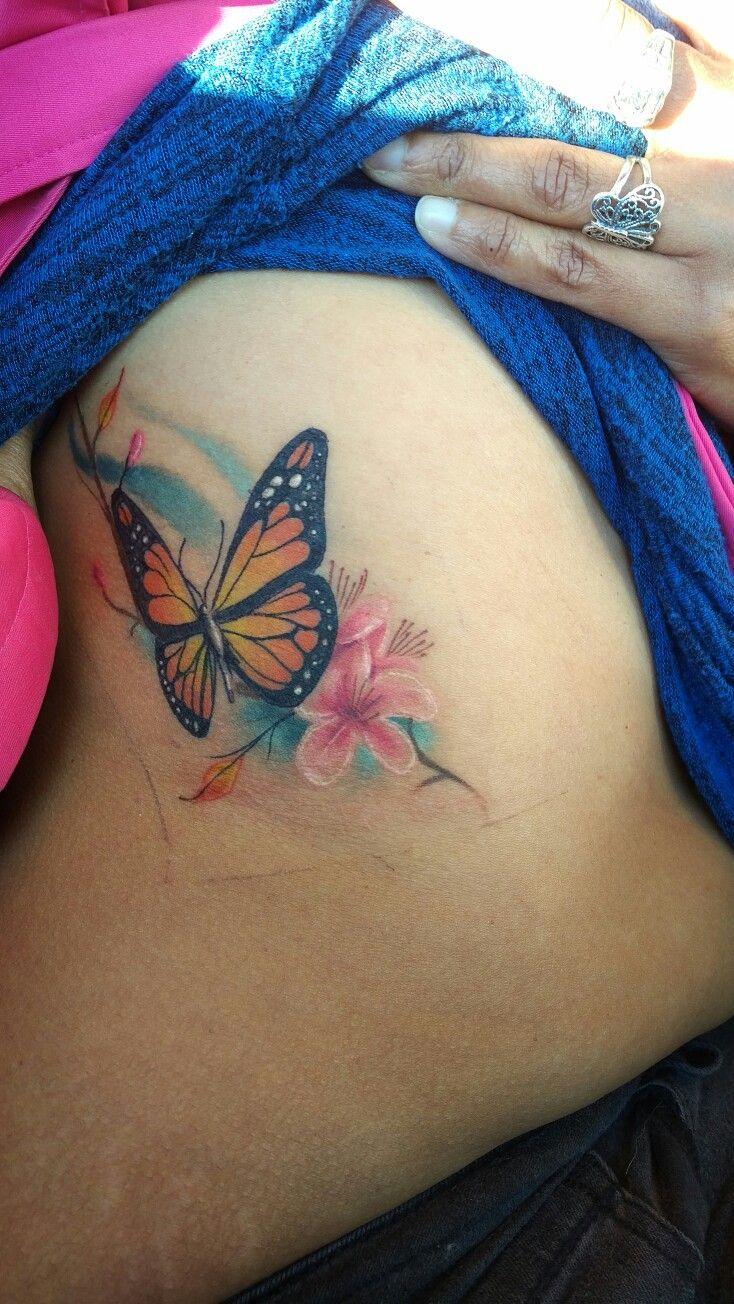 My butterfly tattoo done by brandon smith at motor city tattoos Oshawa #artbybrandonsmith #motorcitytattoos @artbybrandonsmith