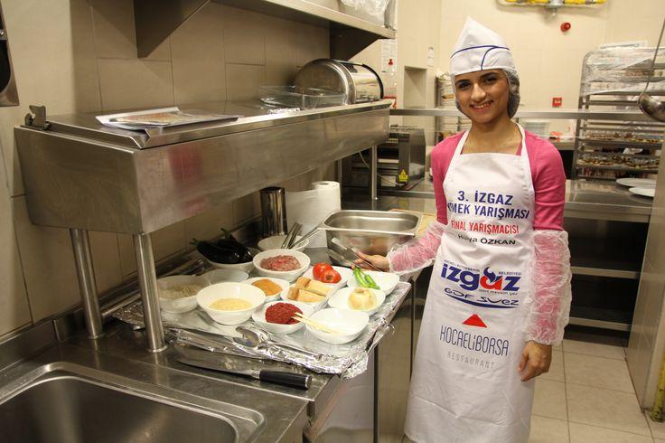2013 Yemek Yarışması En Genç Finalistimiz  Hülya Özkan