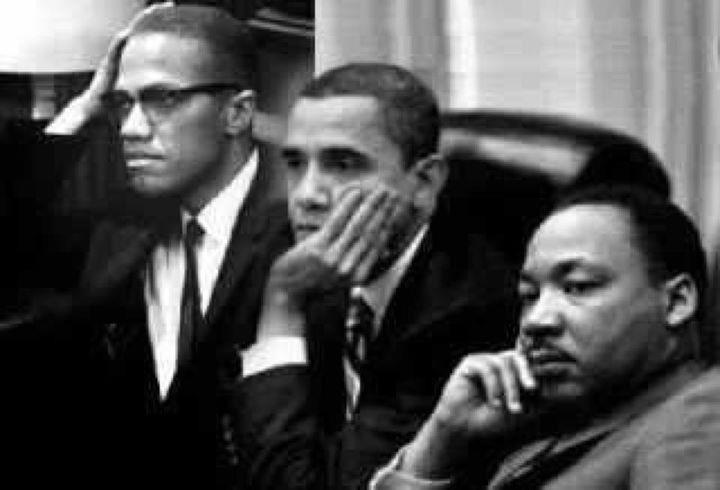 malcolm x president obama martin luther king jr