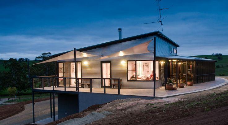 Corrugated Iron Home Designs – Castle Home