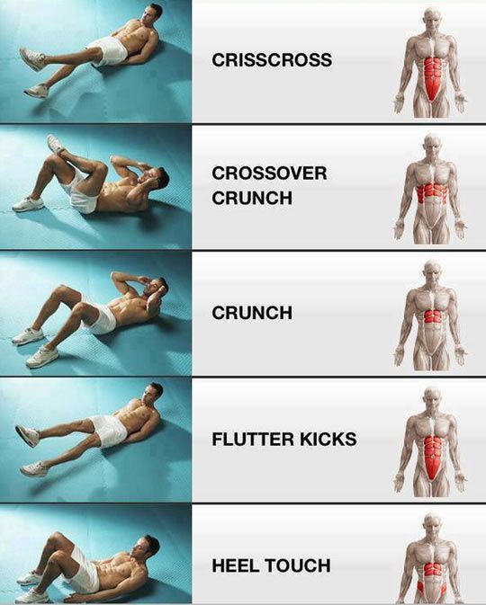 to get those awesome cheer abs!