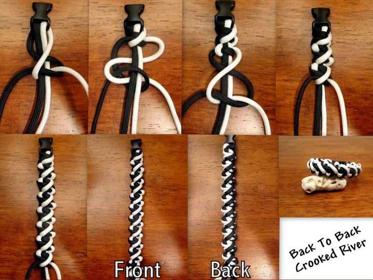 B2B Crooked River + lots of other cord tying tutorial