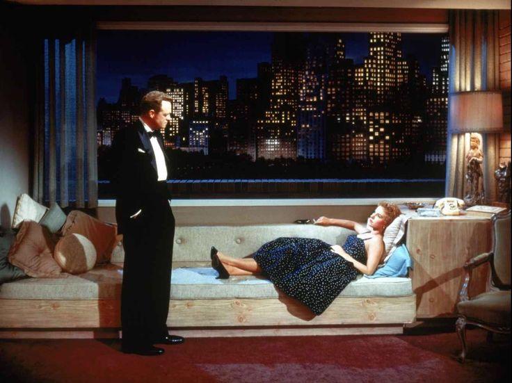 Van Heflin and Peggy Ann Garner in Black Widow (1954)
