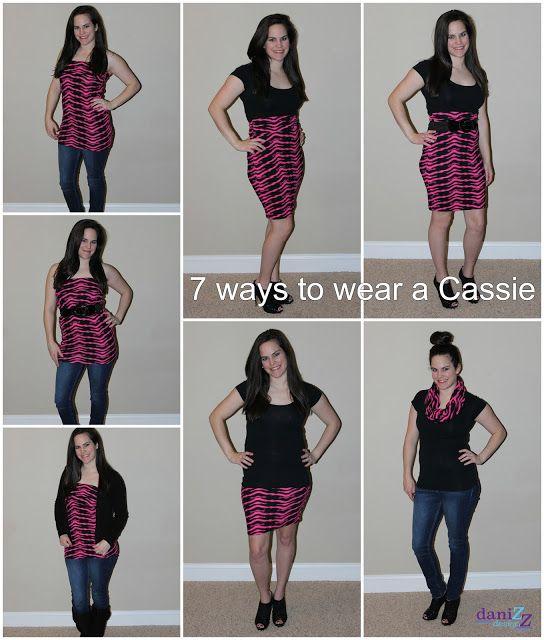 7 ways to wear a LulaRoe Cassie skirt