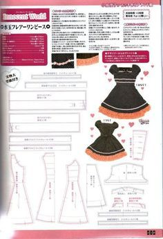gothic lolita sewing pattern