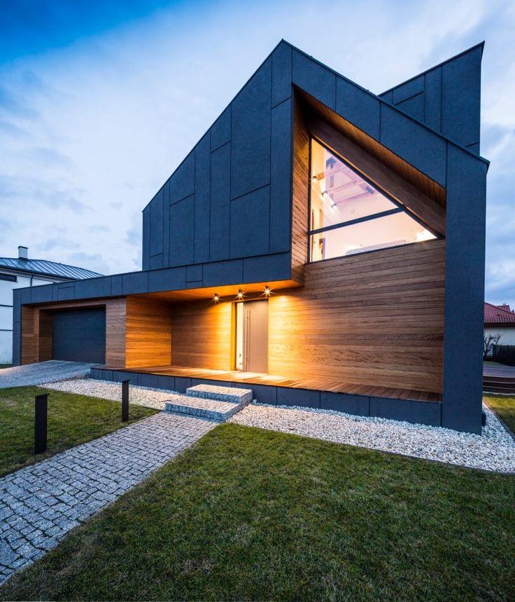 Przeglądaj zdjęcia z kategorii: nowoczesne Domy, RYB house. Znajdź najlepsze pomysły i inspiracje dla Twojego domu.