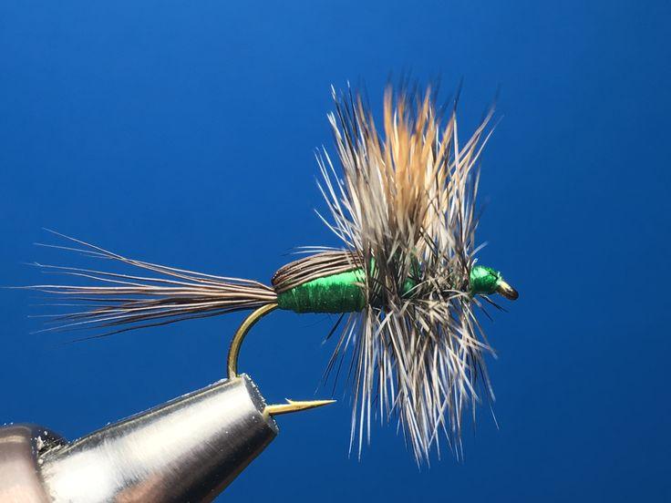 Highlander Green Humpy / Tied by Jim Hershey