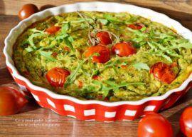 Omleta cu legume la cuptor