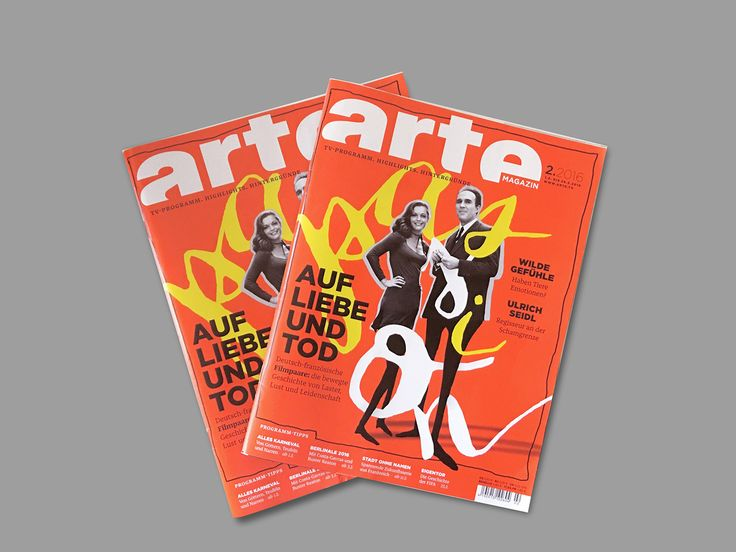 Passion - Arte Magazine on Behance