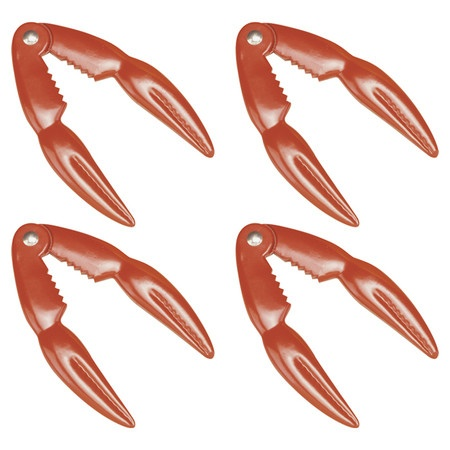 Cast aluminum lobster cracker.   Product: Lobster crackerConstruction Material: Cast aluminumColor:
