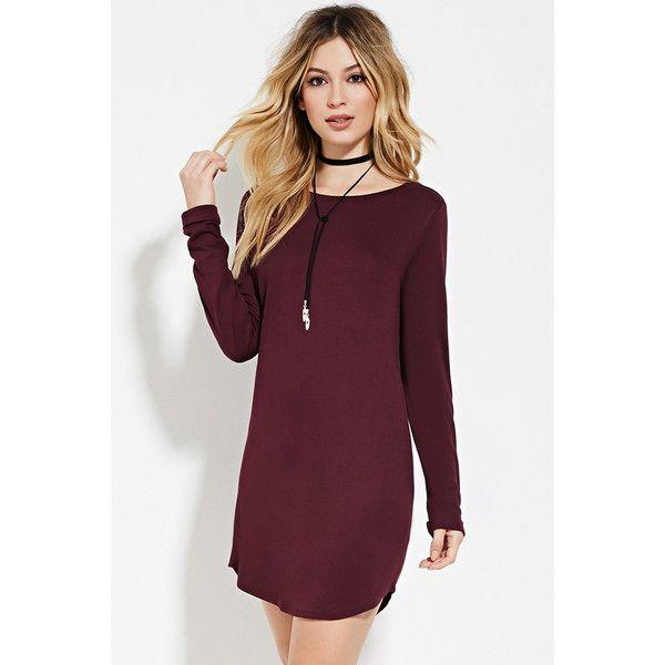 vestido vinotinto