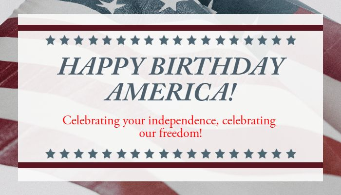HappybirthdayAmericathofjulyhappyforthofjulyindependencedayindependenceday - Design in seconds with @PixTeller