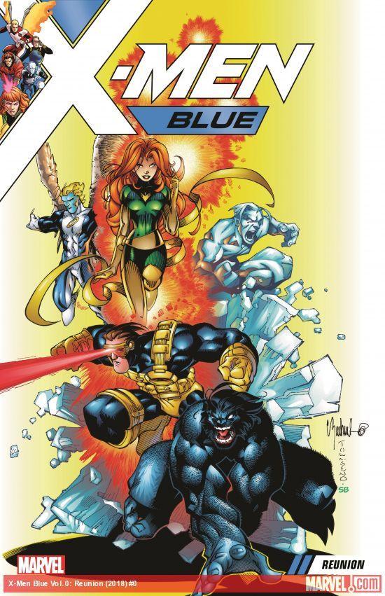 X Men Blue Vol 0 Reunion Trade Paperback W B Marvel Comics Covers Comics X Men