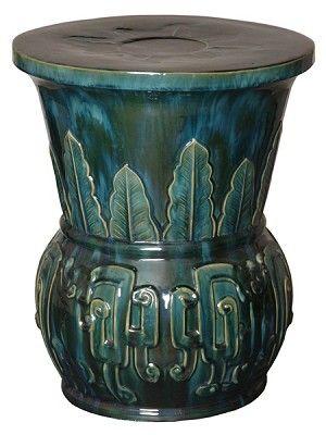 Best Of Green Ceramic Garden Stool