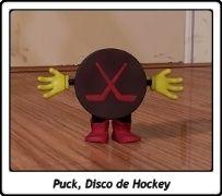 Puck, Disco de Hockey / Hockey Puck / Toy Story / Pixar / John Lasseter