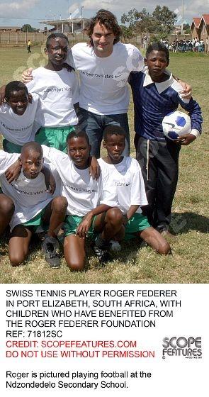 Roger Federer Foundation  #peoplehelpingpeople #philanthropic #dentedego