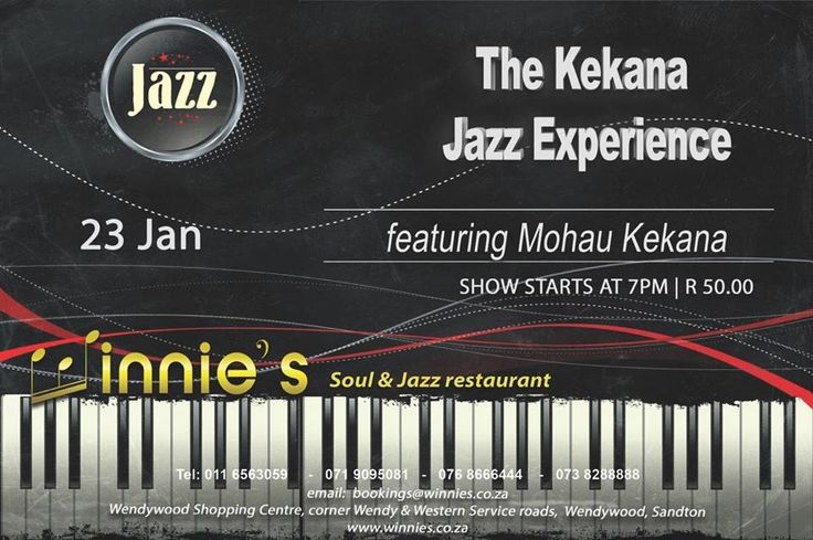 Mohau Kekana live @ winnies soul and jazz