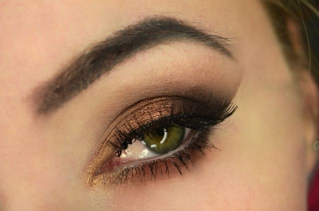 Brown smokey eye step by step | ZOEVA COCOA BLEND | Karolaszka make up