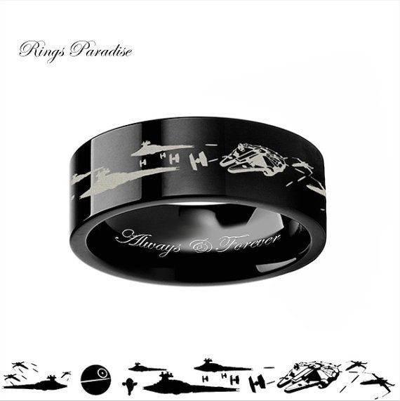 4mm-12mm Personalized Star Wars A New Hope Death by RingsParadise
