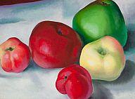 Georgia O'Keeffe. Apple Family 3 | Milwaukee Art Museum