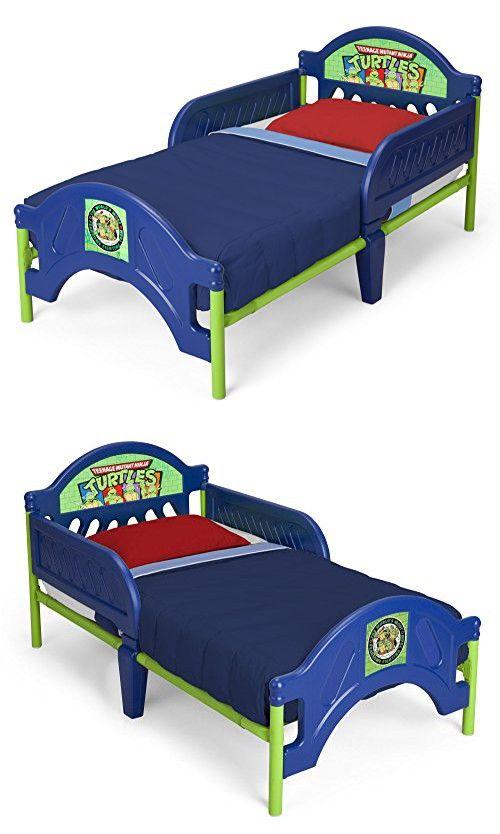 Delta Children Plastic Toddler Bed, Nickelodeon Ninja Turtles