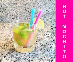 Hot Mochito Rezept für die kalte Jahreszeit! Jetzt auf velo & bling!