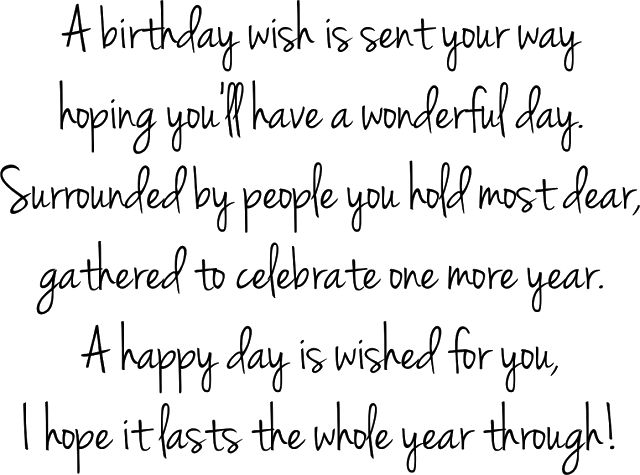25 best ideas about Birthday Sentiments – What to Say in a Happy Birthday Card