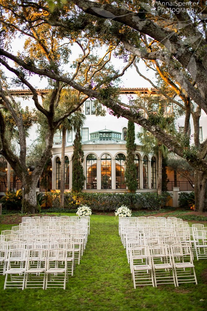 Anna And Spencer Photography Atlanta Wedding Photographers The Cloister Garden At Sea Island Georgia Ceremony Outdoors