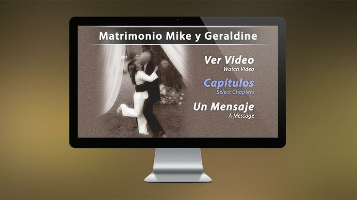 2010: This is a DVD I created for my wedding. It includes custom menu designs images from the wedding and video from the 3 days of celebration. // Este es un DVD que diseñe para mi matrimonio. Fue mi primera aventura en el mundo de editar video. El DVD tiene menús personalizados con imágenes de mi matrimonio y video a través de los 3 días de celebración.