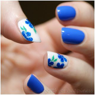 bottle of A pinner said: This amazing lady is on instagram and I love her nail art!!! PICTORIAL! Make your own nail polish stickers! Here's what you need: nail polish, Base coat, scotch tape, and a top coat