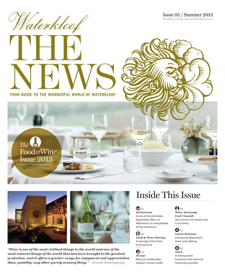 Waterkloof Issue 5 Cover