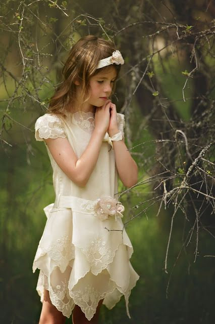Hopefully Romantic Designs by Katherine: Vintage Flower Girl Dress , Made with Love