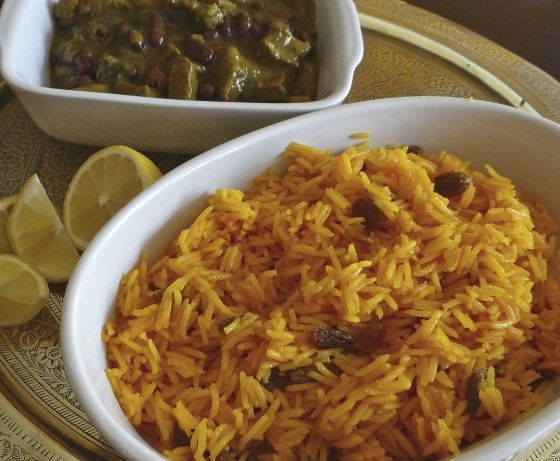 This is a traditional South African recipe- Yellow rice #Tastebudladies #SAFood