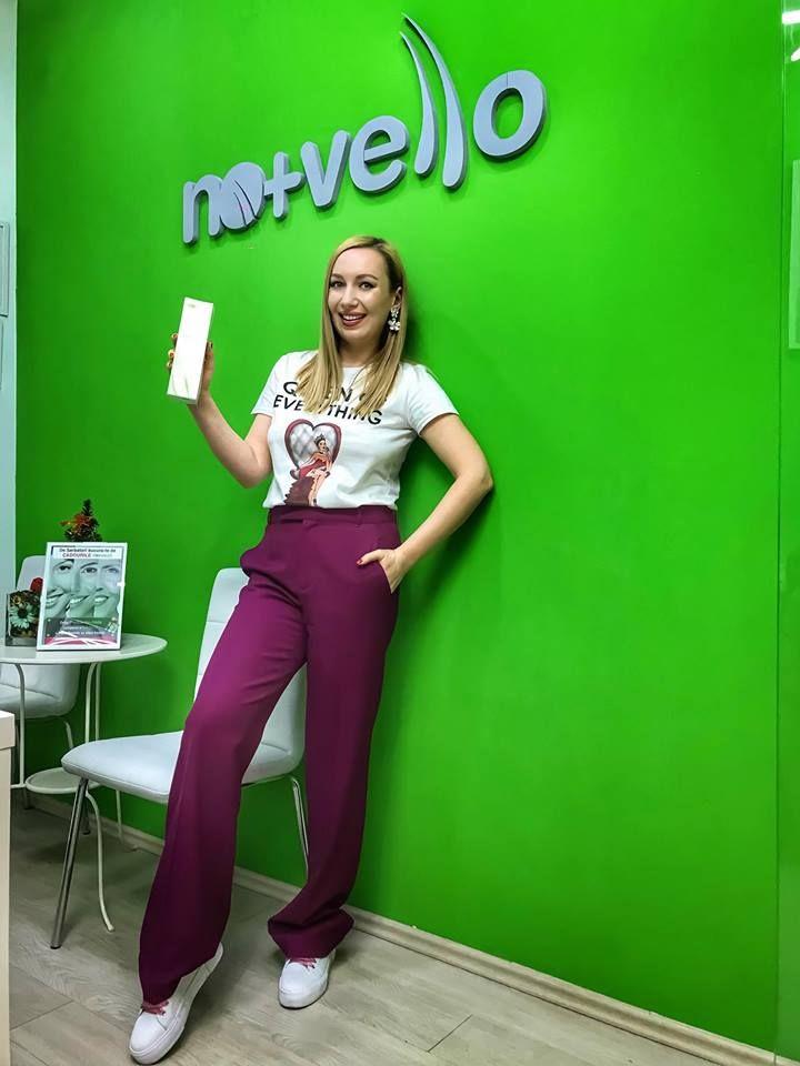Maria Pasca recomanda tratamentele No+Vello