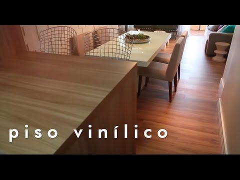 Novos ares na sala e na cozinha com instalação de piso vinílico - YouTube
