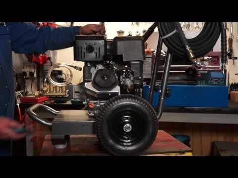 Hyundai HYM40P Petrol Powered Push Rotary Lawn mower  - ThePowerSite.co.uk