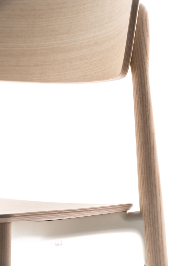 Nemea   Sinuous Legs In Solid Ash Grafted To The Die Casted Aluminium Frame  Placed