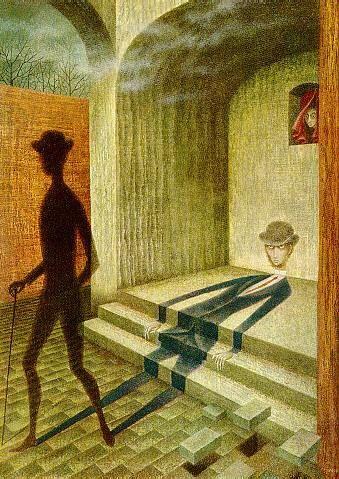 """Fenomeno"" (1962), by Remedios Varo.  Art Experience NYC  www.artexperiencenyc.com"