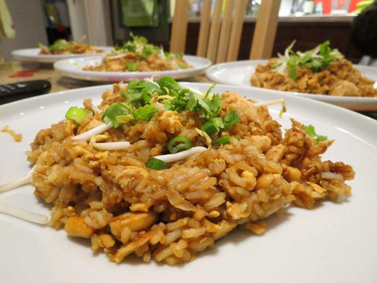 Nasi goereng (Indonéz sült rizs) recept